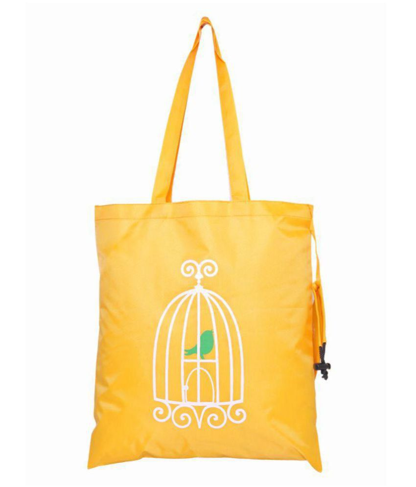 Kohl Yellow Shopping Bags - 1 Pc