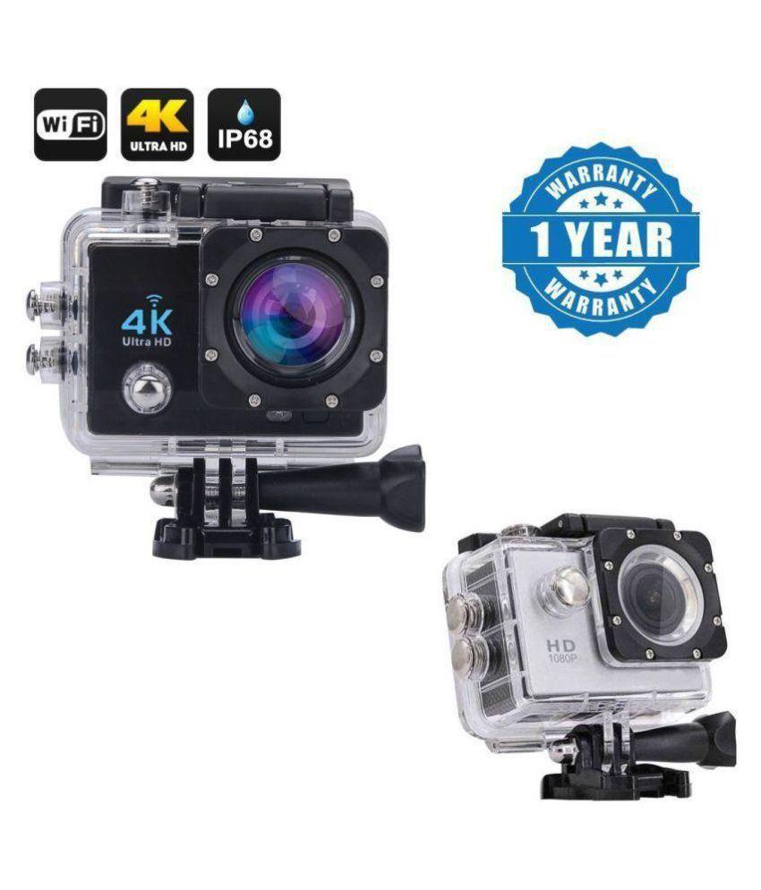 073c6b130 Blue Arrows Waterproof Sports Action Camera - 4K Ultra HD 1920 x 1080 (Full  HD)  30p   25p   24p) MP Video Camera Price in India- Buy Blue Arrows  Waterproof ...