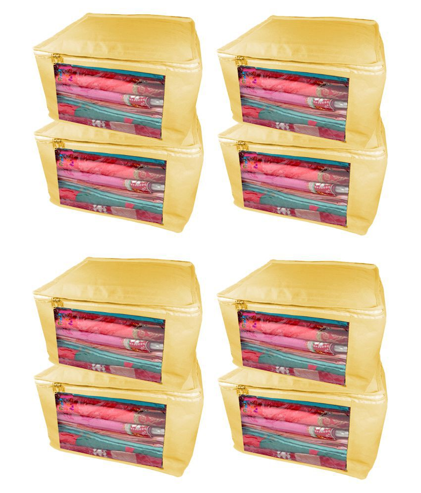 Atorakushon Multi Saree Covers - 8 Pcs