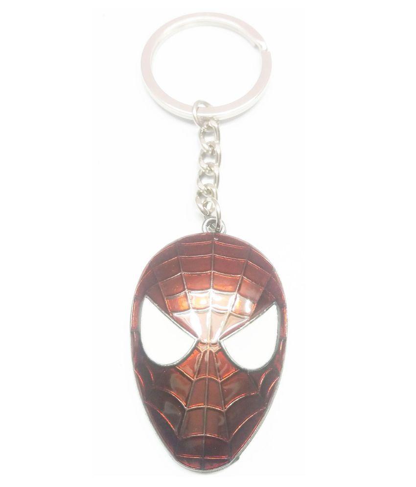 Metal Key Ring Spidermen Key Chain A
