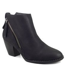 Ripley Black Ankle Length Bootie Boots