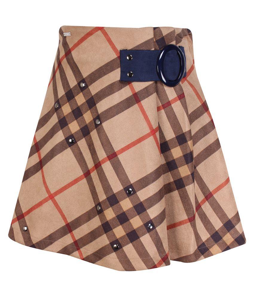 Cutecumber Girls PartyWear Coat Fabric Skirt