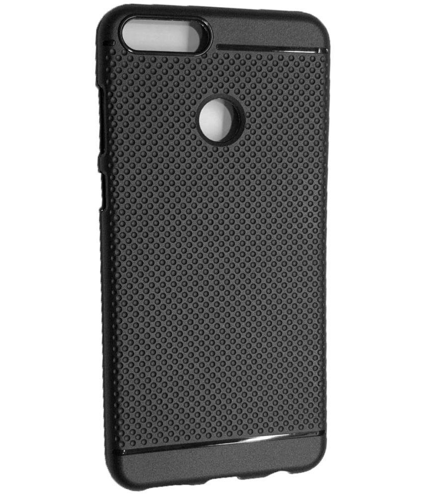 Honor 7X Plain Cases SpectraDeal - Black