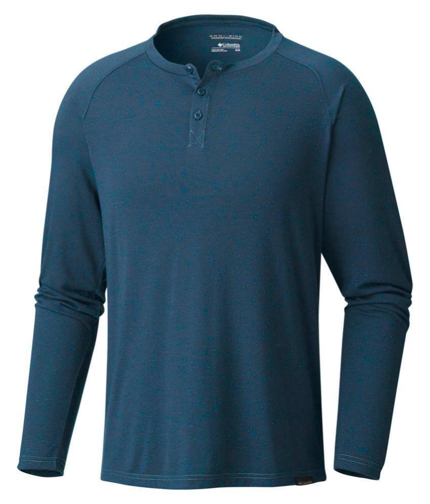 Columbia Blue Round T-Shirt