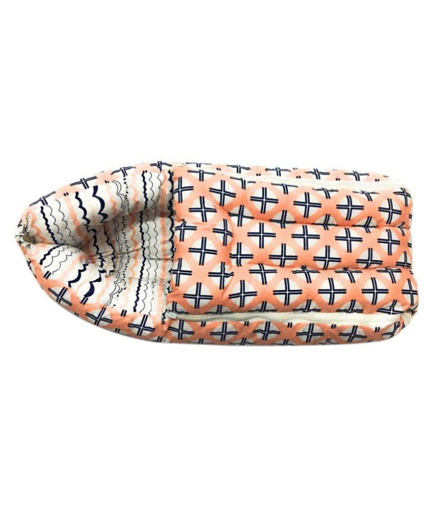 Bacati Multi-Colour Cotton Sleeping Bags ( 68 cm × 50 cm)