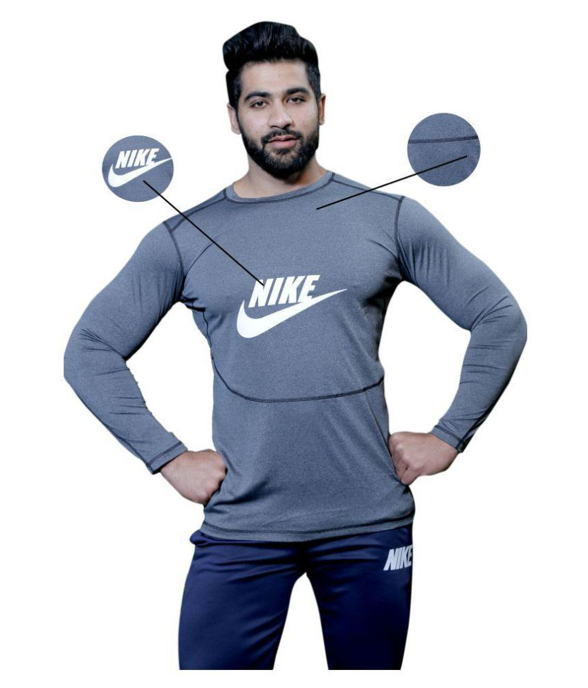 Nike 1 Grey Round T-Shirt