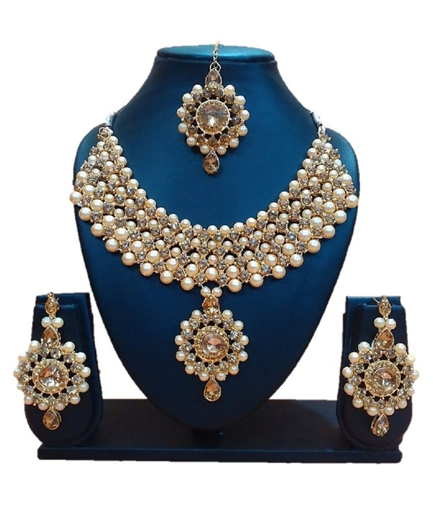 sets products designer red jewellery golden color indian online latest maang necklace beautiful with buy ruby set tika
