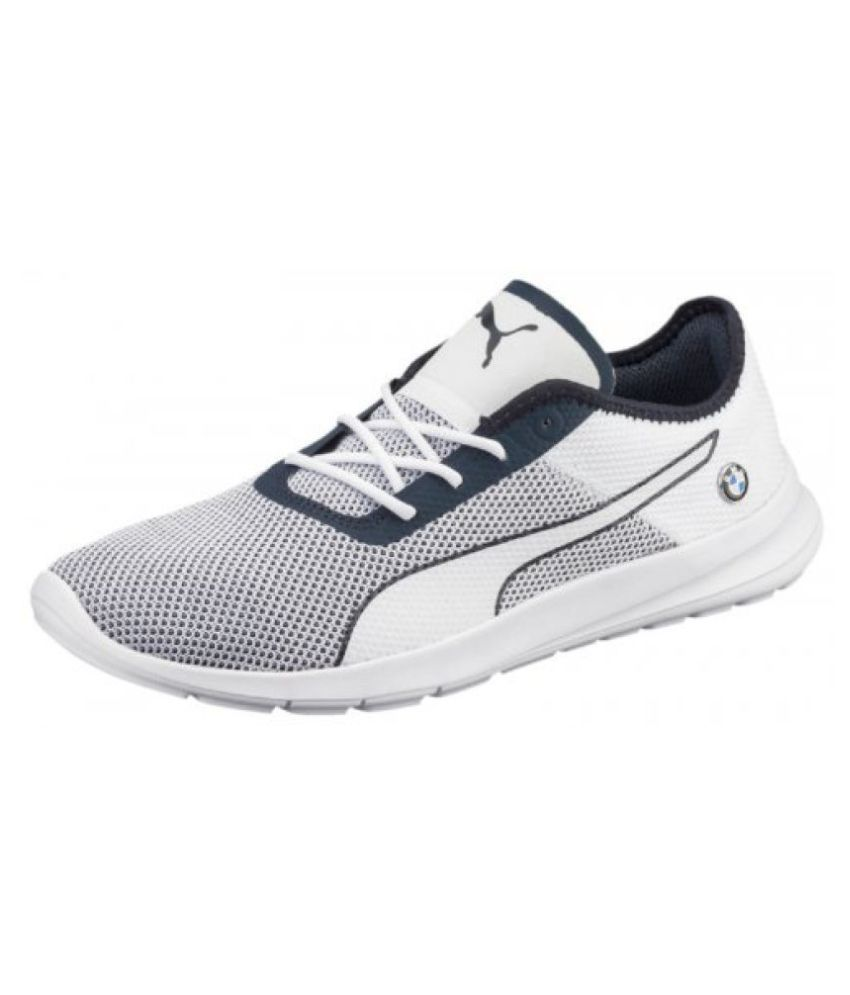 87e0854521f Puma Men BMW MS Runner White Running Shoes - Buy Puma Men BMW MS Runner  White Running Shoes Online at Best Prices in India on Snapdeal