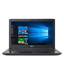 Acer Aspire E5-575 Notebook Core i3 (7th Generation) 4 GB 39.62cm(15.6) Windows 10 Home without MS Office Not Applicable Black