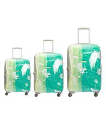 Skybags Green L(Above 70cm) Check-in Hard ESCAPE 3 Luggage