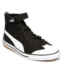 Puma Unisex 917 Fun Mid IDP Mid-Top Sneakers Black Casual Shoes