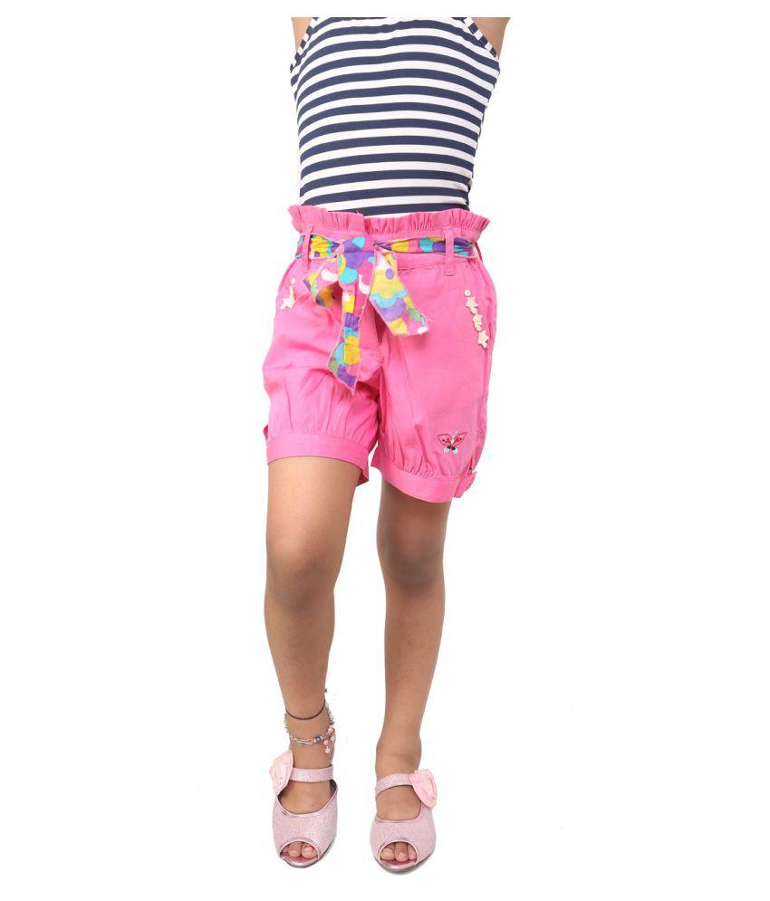 Kavyas kids pink shorts