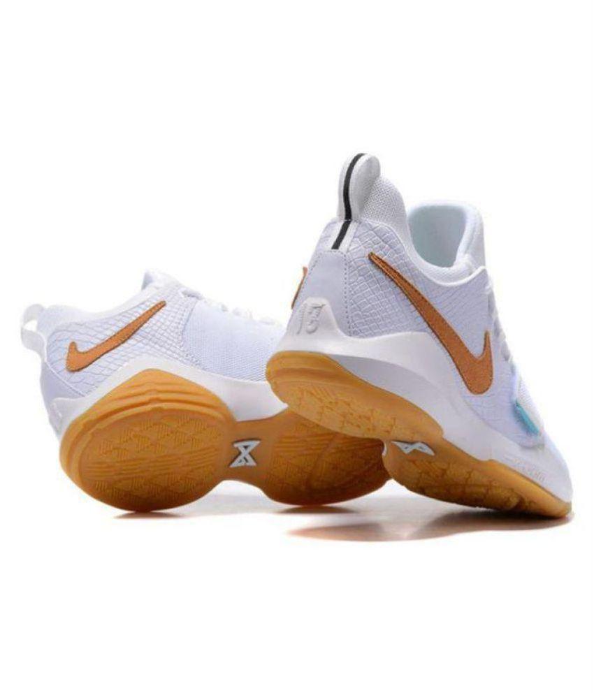 723c49708a0c Nike PG 1 PAUL GEORGE White Basketball Shoes - Buy Nike PG 1 PAUL ...