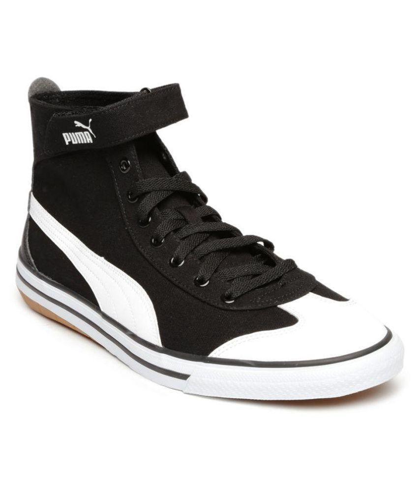 Puma Sneakers Black Casual Shoes - Buy Puma Sneakers Black ...