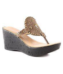 CATWALK Brown Wedges Heels