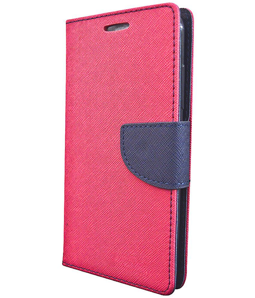 new product 39d3a 80ee9 Xiaomi Redmi 5A Flip Cover by Coverage - Pink