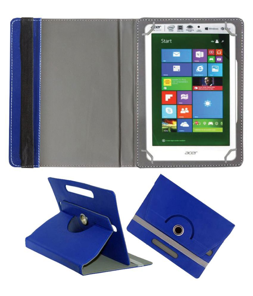 Acer Iconia A1-830 Flip Cover By Fastway Blue