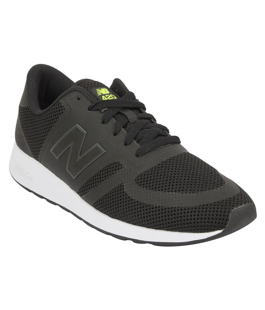 a9ec0a8c3e2 New Balance MRL420BR-Black Black Running Shoes - Buy New Balance  MRL420BR-Black Black Running Shoes Online at Best Prices in India on  Snapdeal