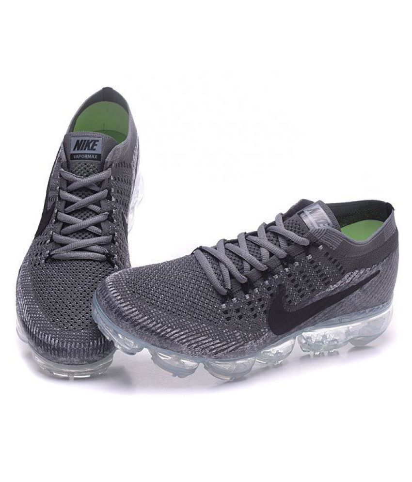 803b0c1b81995 Nike Air Vapormax Flyknite Gray Running Shoes - Buy Nike Air ...
