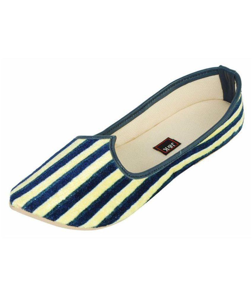Juta & Kassa Yellow Ethnic Footwear