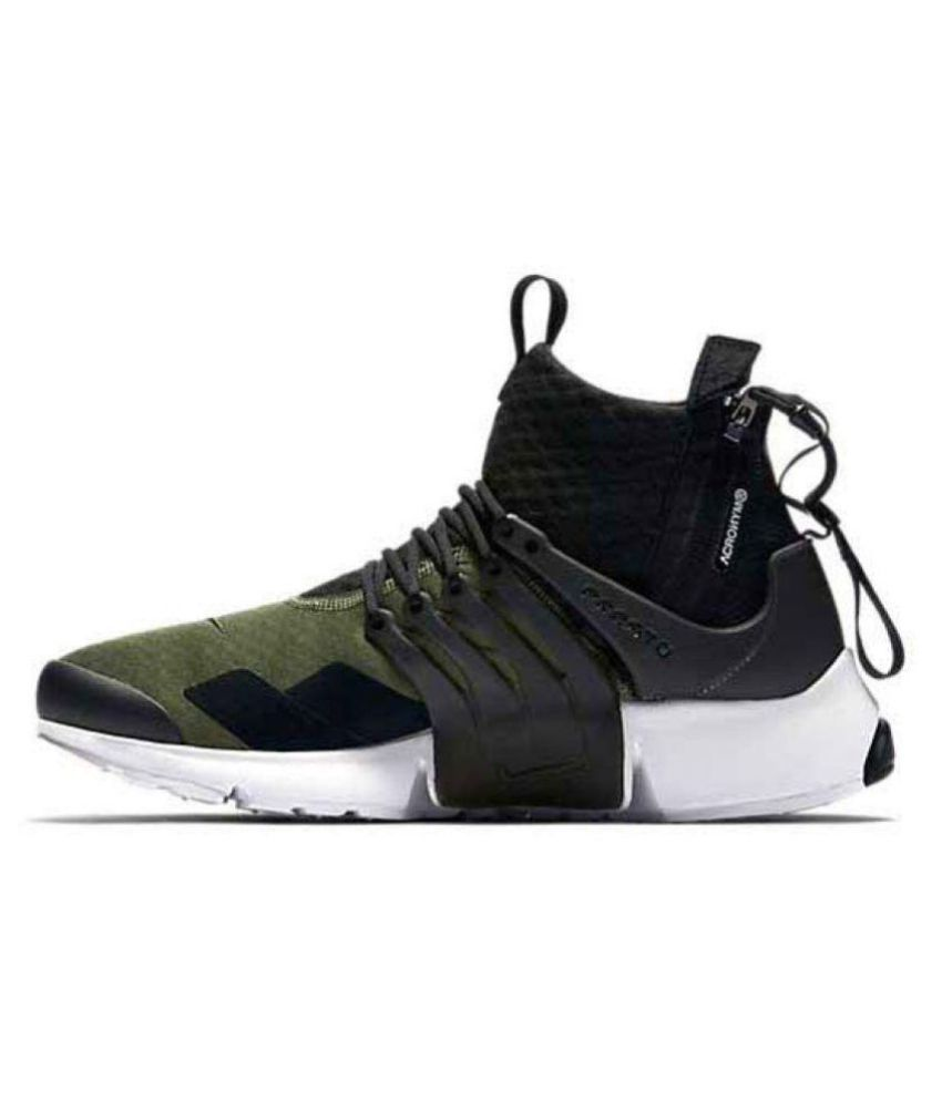 82148a797c38 Nike AIr presto Acronym Green Running Shoes - Buy Nike AIr presto Acronym  Green Running Shoes Online at Best Prices in India on Snapdeal