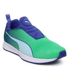 Puma Green Training Shoes