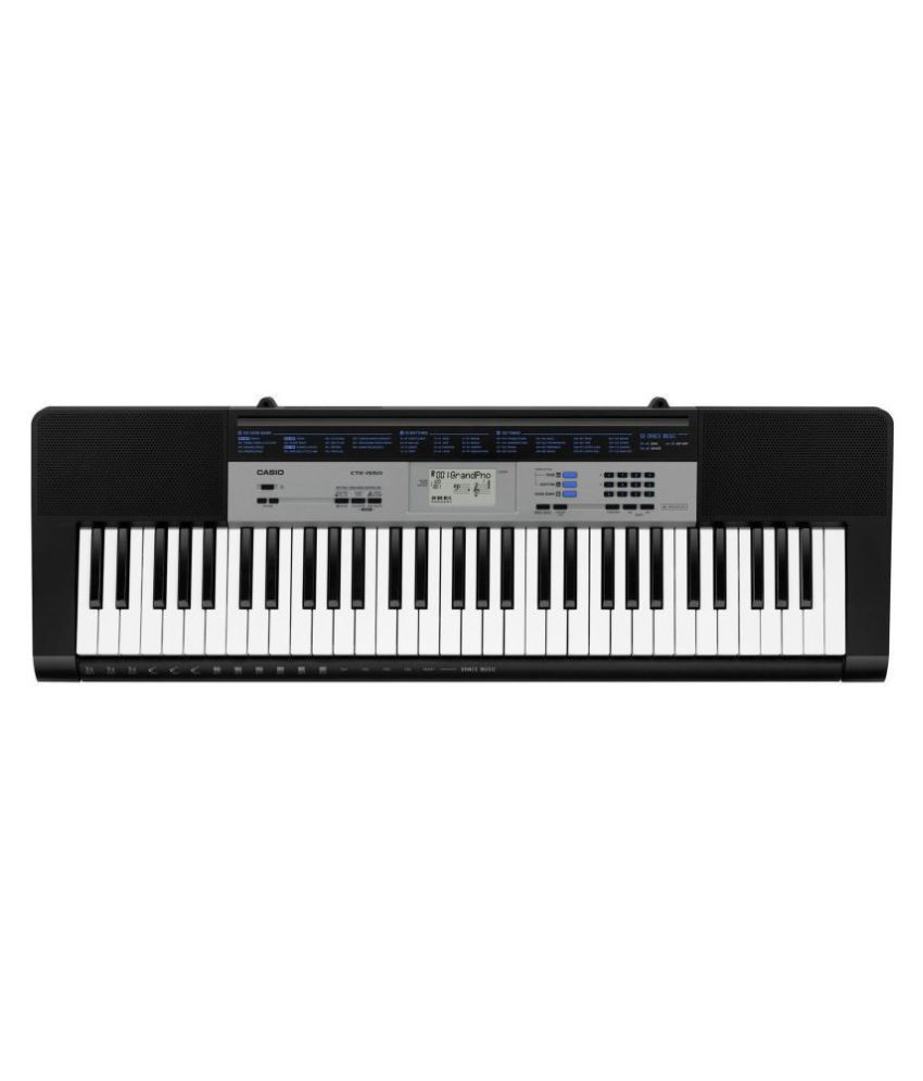 Casio New Ctk 1550 Keyboard 61 Keys