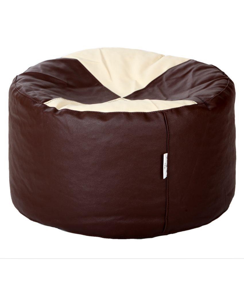 Comfy Bean Bags Corner Puffy Bean Bag Size Large