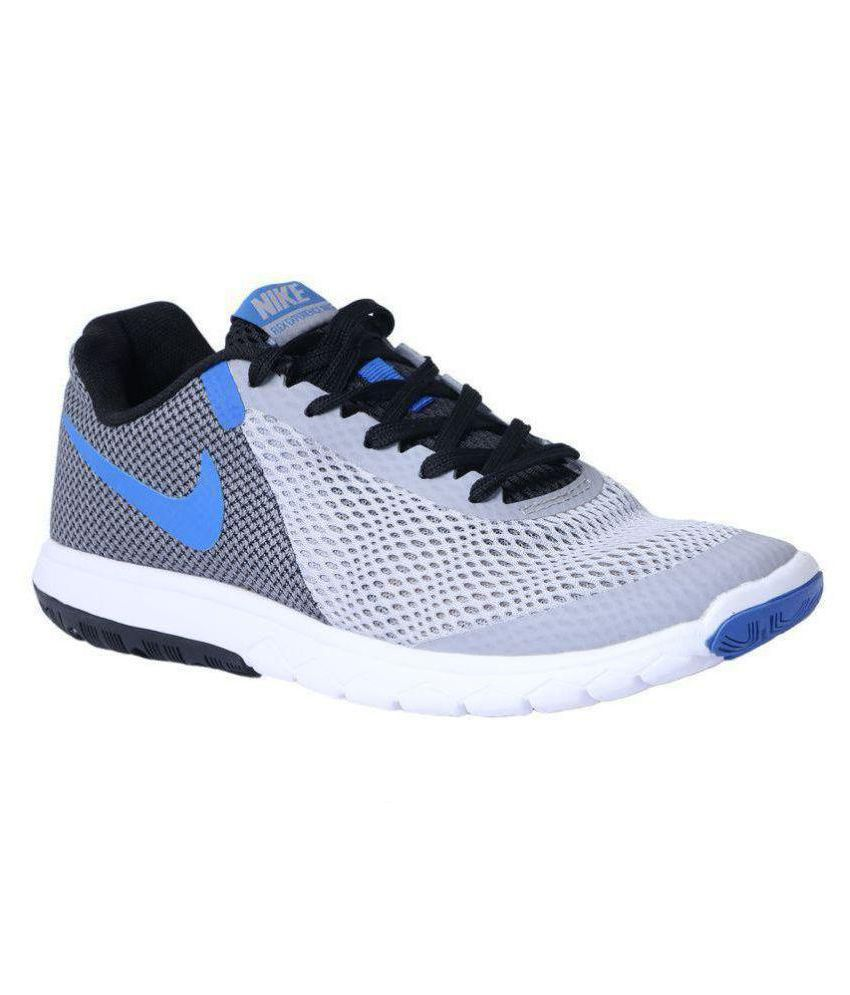 Nike Flex Experience RN 5 Gray Running Shoes ...