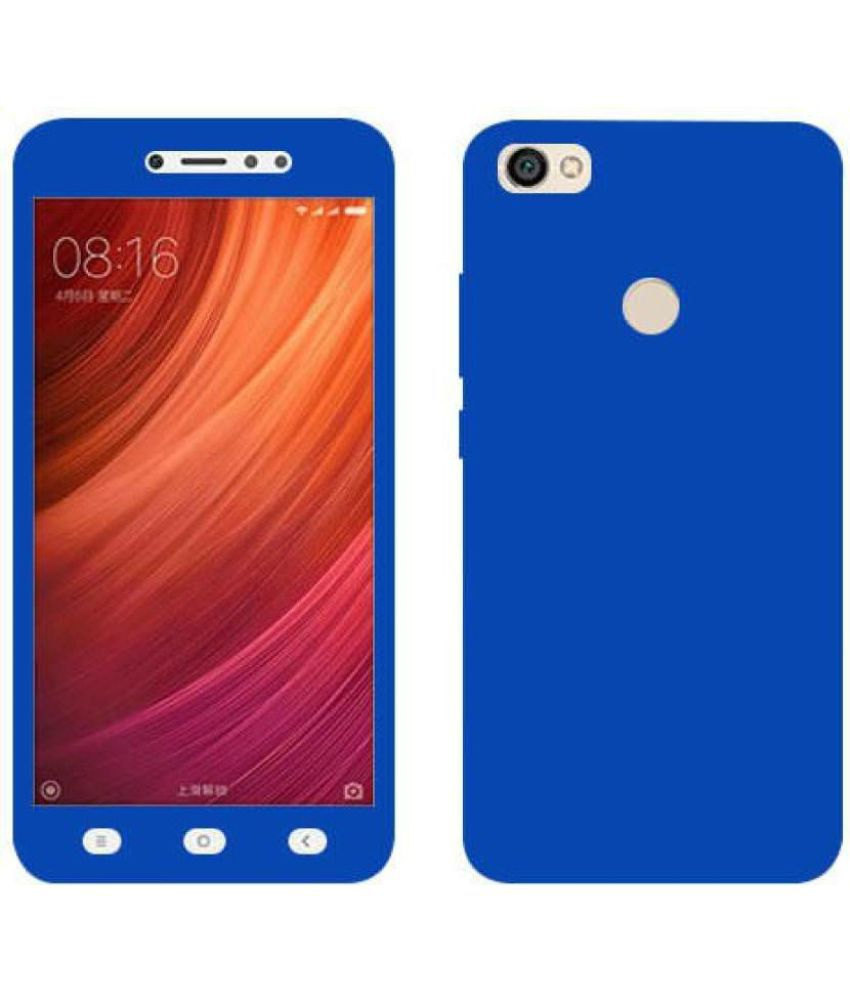 Xiaomi Redmi Y1 Plain Cases Doyen Creations - Blue