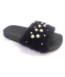 Vaniya shoes Black Slides