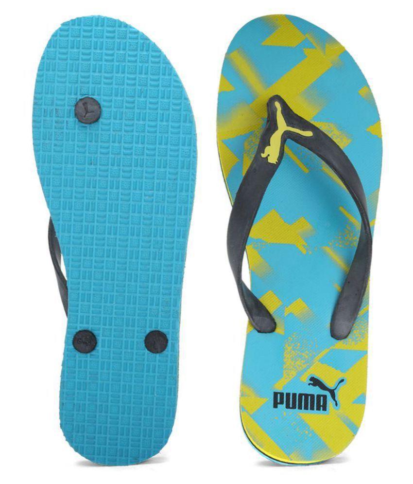a30131d22 Puma Men Luca GU IDP Blue Thong Flip Flop Price in India- Buy Puma ...