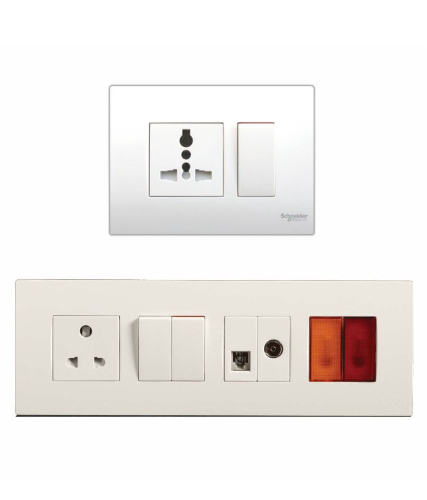 77ae03d109a Buy Schneider Electric 240 Modular Switches Online at Low Price in India -  Snapdeal