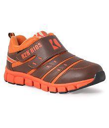 Tepcy Orange & Brown Color Stylish Kids Shoes …