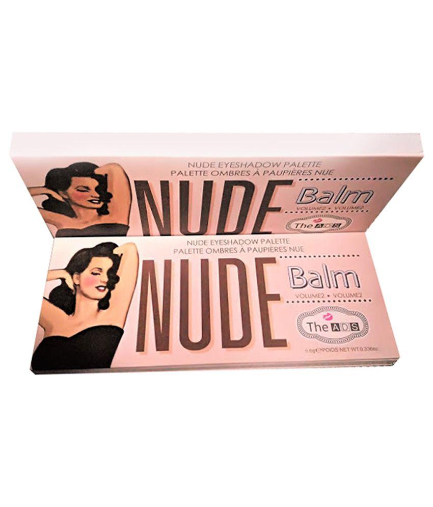 ADS Balm The Nude Tude Eyeshadow Palette A8729