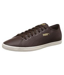 Puma Unisex Elsu V2 Perf Sl Sneakers Brown Casual Shoes
