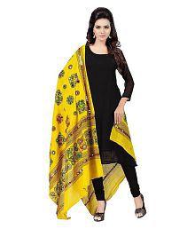 Raj Yellow Cotton Dupatta