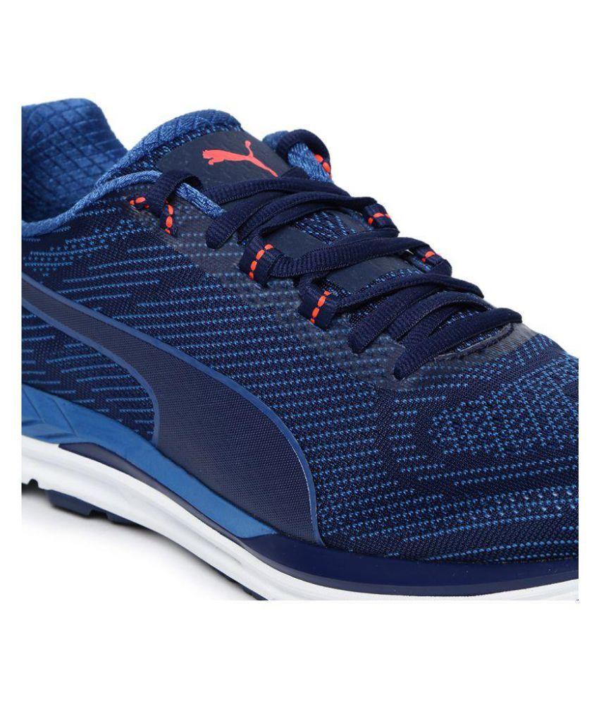48452838e41690 Puma Men Speed 600 S IGNITE Blue Running Shoes - Buy Puma Men Speed ...