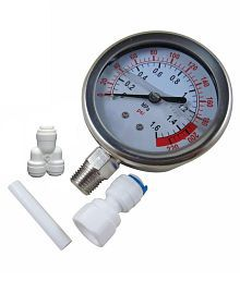 RO Service Water Purifier Pump Pressure Gauge Dial Bottom Gly Filled RO Service Kit