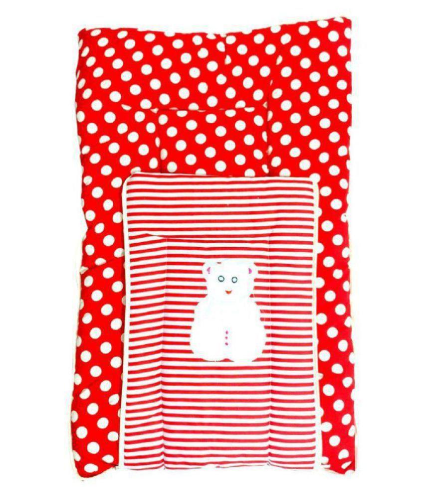 SpringLoom Red Cotton Sleeping Bags ( 75 cm × 49 cm)