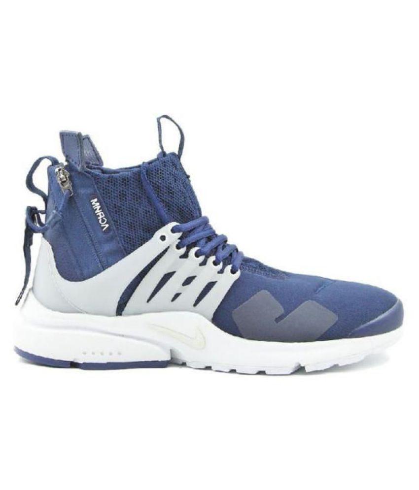 Nike Zoom Presto Long Acronym Blue Running Shoes
