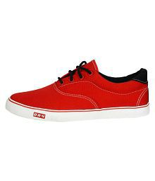 Blackies DRY UNISEX SHOE Sneakers Red Casual Shoes
