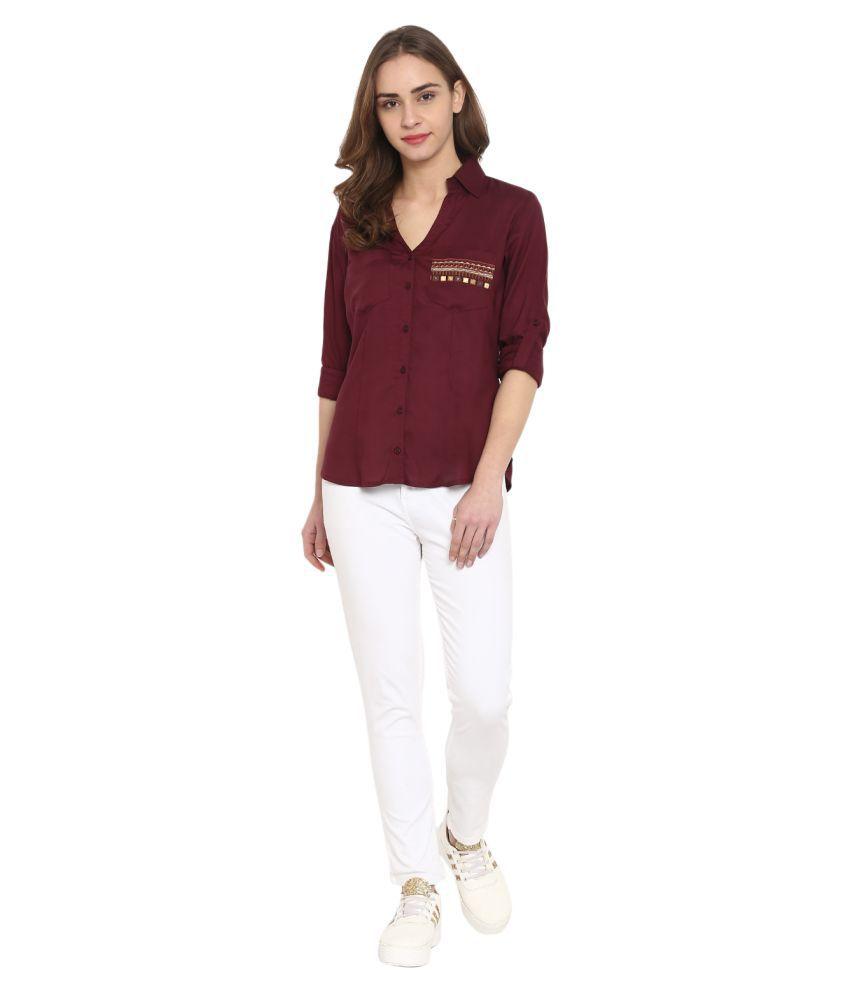 Aesmarize Rayon Shirt