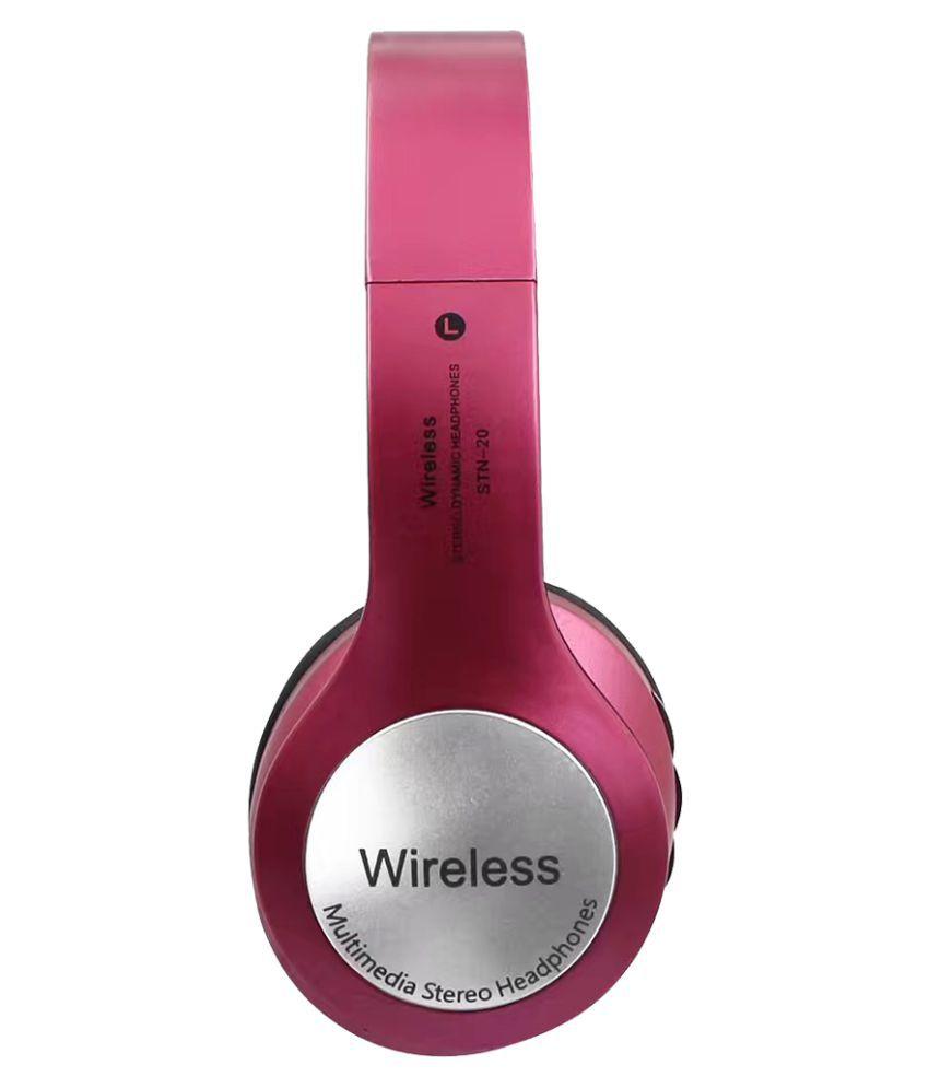 JOKIN Xiaomi Mi Max Prime   compatible Wireless Bluetooth Headphone Pink