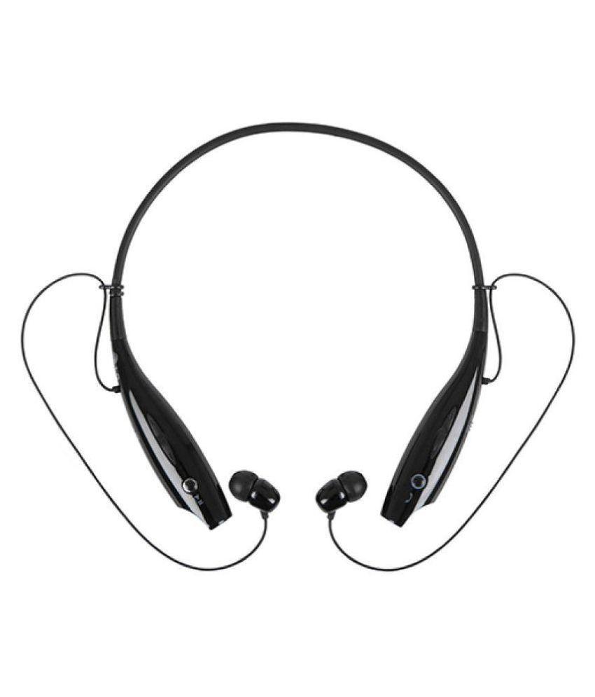 GO MANTRA Sony Xperia M2 Aqua Neckband Wireless With Mic Headphones/Earphones