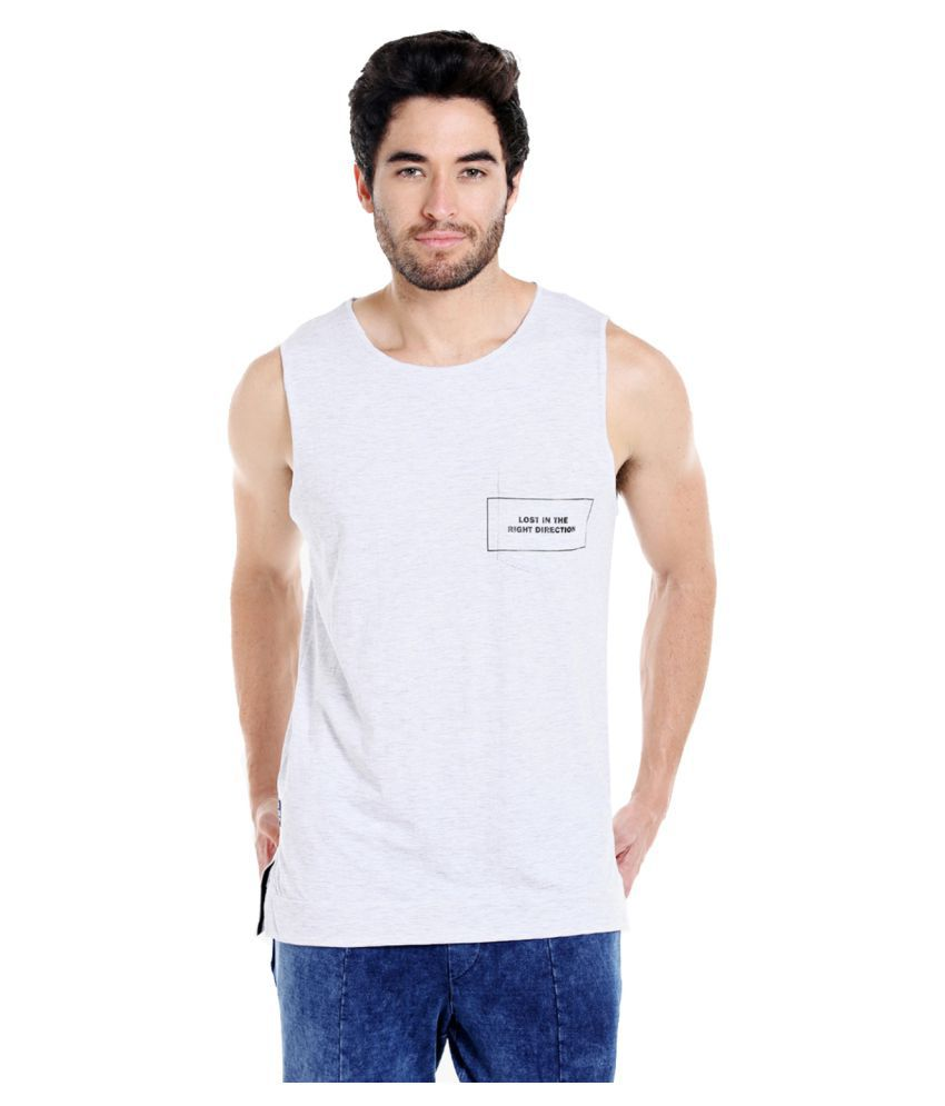 Cult Fiction White Round T-Shirt Pack of 1