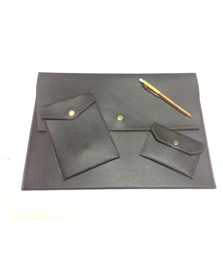 Leatherite Button Bag/Passport Holder/Card Holder