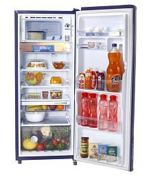 Whirlpool 215 Ltr 4 Star (Sapphire Dahlia, 230 Imfresh PRM 4S) Single Door Refrigerator - Blue