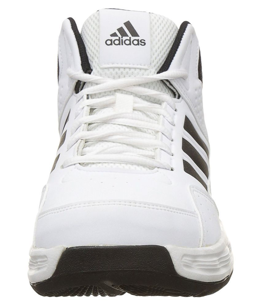 816d0f27420d Adidas ADI RIB M White Basketball Shoes - Buy Adidas ADI RIB M White ...
