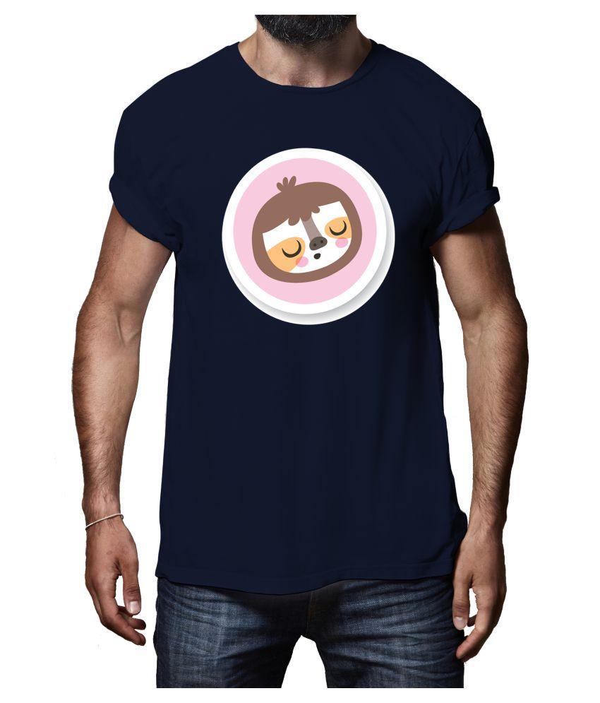 Rappersshop Navy Round T-Shirt